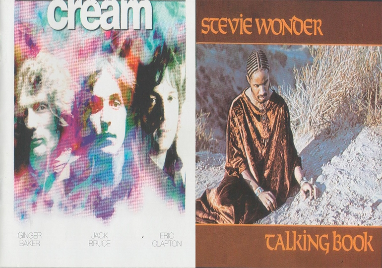 CREAM Y STEVIE WONDER EN DIAMANTES